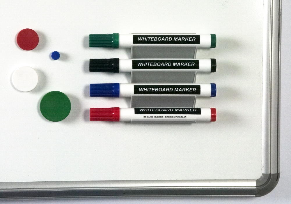 Magnetic Horizontal Pen Holder (4-Pens)